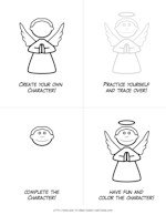 printable angel