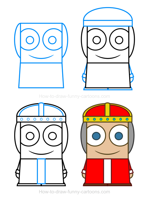 How To Draw A Queen Clipart