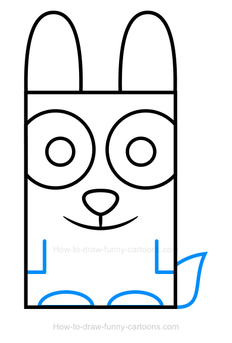 How to Draw a Rabbit Clipart
