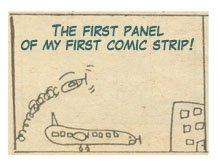 My first comic strip!