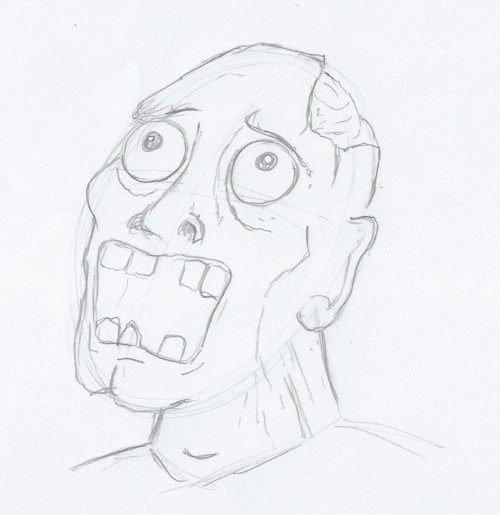 Gallery For gt Easy Zombie Sketch